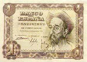Billete Peseta